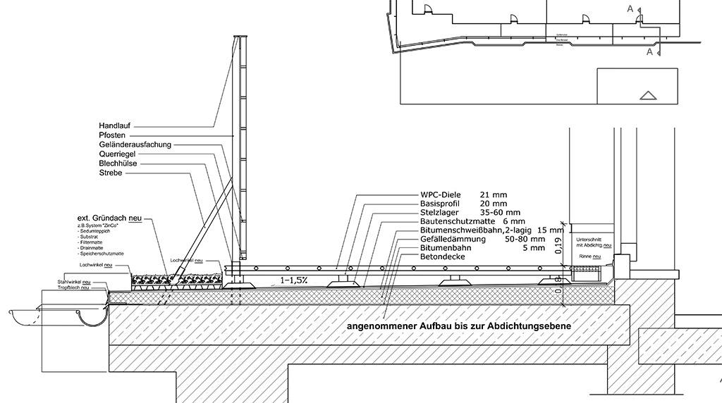 Rinne Terrasse Detail